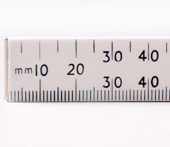 Numbers Measurement Ruler
